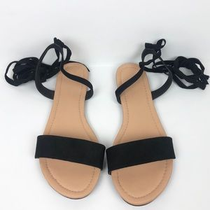 ba336eaf815d1 ASOS Shoes - ASOS Fiona Tie Leg Sandals
